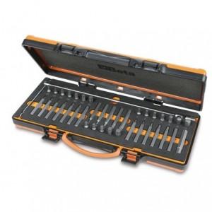Zestaw końcówek wkrętakowych 867 pokrętłem przegubowym typu t 39 elementy w pudełku...