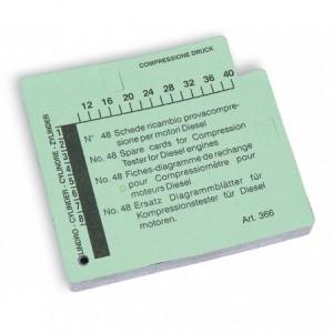 Karta pomiarowa do przyrządu 960cmb Beta 960CMB/K (48 SZTUK)