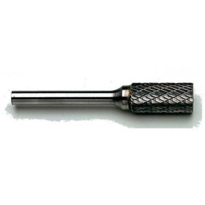 Frez trzpieniowy z węglika spiekanego walcowy, kształt a, 8x19mm, nacięcie podwójne dc,...