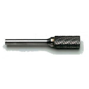 Frez trzpieniowy z węglika spiekanego walcowy kształt a 12x25mm nacięcie alu trzpień...