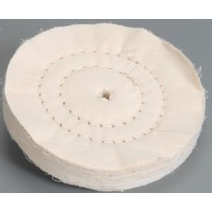 Krążek polerski płócienny, dwukrotnie zszywany, cc02-bawełna-150x20x10mm-2 stitch-flexovit