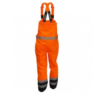 Spodnie na szelkach ostrzeg.pom-gran.l Beta VWJK113BON/L