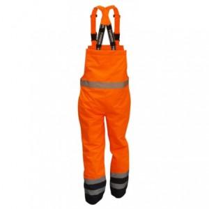 Spodnie na szelkach ostrzeg.pom-gran.m Beta VWJK113BON/M