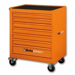 Wózek warsztatowy, narzędziowy BETA Easy z 7 szufladami, pomarańczowy (9324/C04O-7NEW)