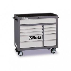 Wózek warsztatowy, narzędziowy BETA z 11 szufladami, szary (3800/C38G)