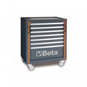 Wózek warsztatowy, narzędziowy BETA z 7 szufladami, system RSC55 (5500/C55C7)