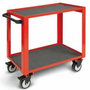 Wózek warsztatowy, narzędziowy BETA o zwiększonej obciążalności, czerwony (5100/CP51R)
