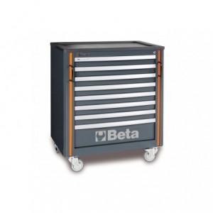 Wózek warsztatowy, narzędziowy BETA z 8 szufladami, system RSC55 (5500/C55C8)