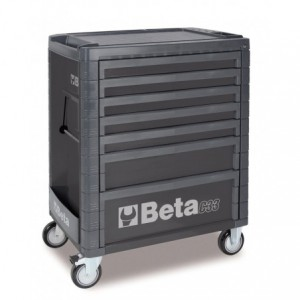 Wózek warsztatowy, narzędziowy BETA z 7 szufladami, szary (3300/C33/7G)