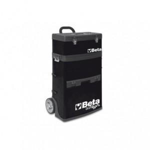 Wózek narzędziowy, warsztatowy BETA, dwuczęściowy, czarny (4100/C41HN)
