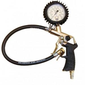 Przyrząd do pompowania opon zakres manometru 0-10 bar skala w bar/psi Beta 25/D-RB 15/ANI
