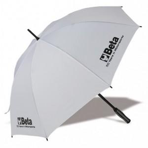 Parasol nylon,biały. Beta 095210111