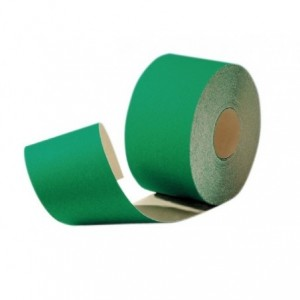 Papier ścierny z ziarnem ściernym elektrokorundowym w rolce rth rl 95mmx50m flexovit...