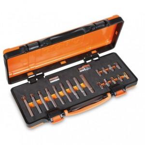 Zestaw końcówek wkrętakowych 867ribe z akcesoriami 20 elementów w pudełku metalowym...