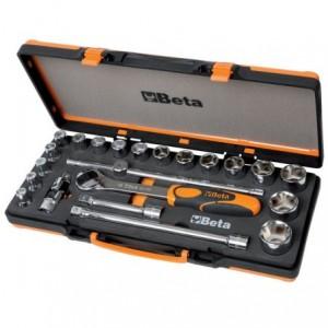 Zestaw nasadek 920/a z akcesoriami 10-32mm 22 elementy w pudełku metalowym Beta 920A/C17M