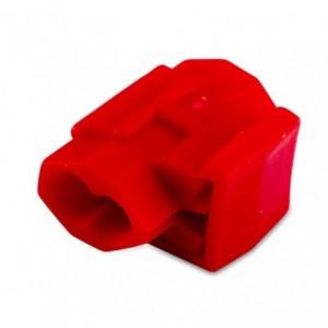 Łącznik przewodów samozaciskany czerwony 0,25-1 mm2 do przewodów wielodrutowych pp op....