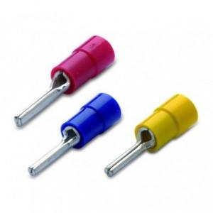 Końcówka igiełkowa izolowana 6/12 pvc zakres 4-6 mm2 żółte op. 50 szt. BM Group 00350
