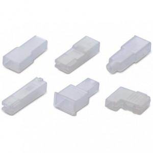 Osłonka izolacyjna do nasuwek prostych 4.8 pe naturalny opakowanie 1000 sztuk Beta BM01021