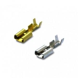 Nasuwka nieizolowana mosiądz 2.5-6.3/0.8 zakres 1-2.5 mm2 op. 100 szt. BM Group 01290
