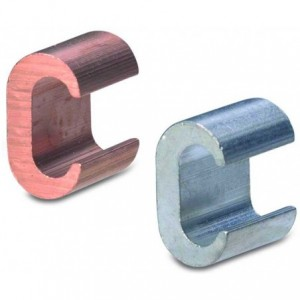 Złącze miedziane boczne typu c 25-25 mm2 op. 100 szt. BM Group 01402