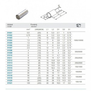 Wycinak rymarski do materiałów miękkich, model 1105, 9mm