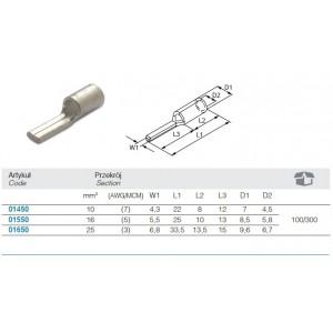 Klucz płaski nastawny fosforanowany, model 111n, 150mm