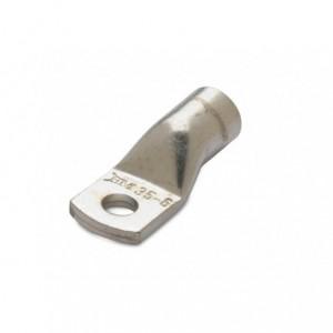 Końcówka kablowa oczkowa rurowa miedziana cynowana 50/6 50 mm2 śr6 do wyłączników...