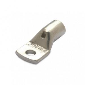 Końcówka kablowa oczkowa rurowa miedziana cynowana 50/6 50 mm2 śr6 superflex z otworem...