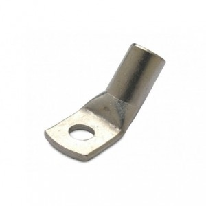 Końcówka kablowa oczkowa rurowa miedziana cynowana kątowa 45deg 50/10 50 mm2 śr10 op....