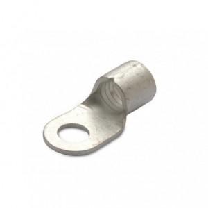 Końcówka oczkowa miedziana cynowana nieizolowana 10/8 10 mm2 śr8 din 46234 op. 100 szt....