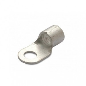 Końcówka oczkowa miedziana cynowana nieizolowana 25/6 25 mm2 śr6 din 46234 op. 100 szt....