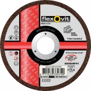 Tarcza do cięcia metali nieżelaznych a60q-115x1.0x22.2-t41 flexovit-alu Beta 66252832590