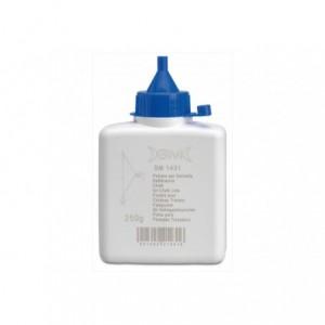 Proszek traserski do znakownicy niebieski 250 g w butelce BM Group 1431