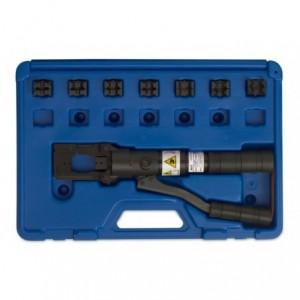 Praska ręczna hydrauliczna w kasecie 50 kn nieizolowane 10-150 mm2 złączki typu c 16-35...