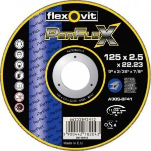 Tarcza do cięcia stali węglowych a30r-180x2.5x22.2-t41 flexovit-perflex metal Beta...