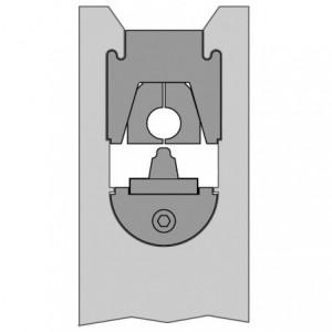 Matryca typu 86 70 mm2 głębokie zaciskanie do końcówek BM Group 186770