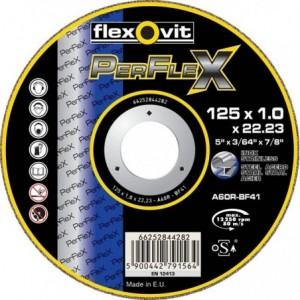 Tarcza do cięcia stali węglowych i nierdzewnych a46s-180x1.6x22.2-t41 flexovit perflex...