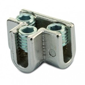 Złącze śrubowe typu t śr9-10 mm 3xm14 mosiądz op. 25 szt. BM Group 2353
