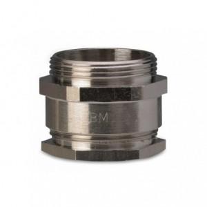 """Dławik mosiężny niklowany ip54 gwint g 1"""" 1/2 zakres przewodów śr33-35 mm opakowanie 20..."""