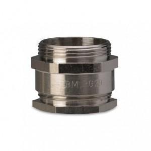 Dławik mosiężny niklowany ip54 gwint m32x1,5 zakres przewodów śr19-22 mm op. 50 szt. BM...