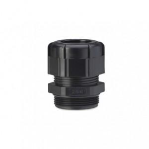 Dławik kablowy ip68 gwint pg 7 czarny ral 9005 z uszczelką zakres przewodów śr3-6,5 mm...