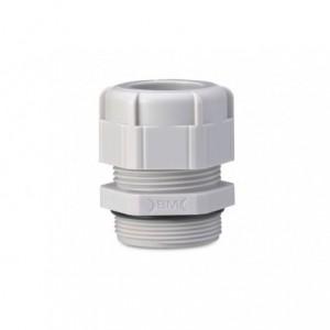 Dławik kablowy ip68 gwint pg 16 szary ral 7035 z uszczelką zakres przewodów śr10-13 mm...