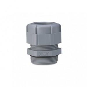 Dławik kablowy ip68 gwint pg 9 szary ral 7001 z uszczelką zakres przewodów śr4-8 mm op....