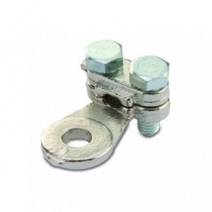 Końcówka oczkowa dwuśrubowa mosiądz niklowany 35/10 35 mm2 śr10 2xm5 op. 100 szt. BM...
