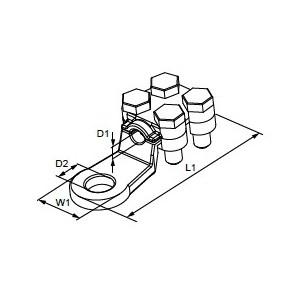 Klucz płasko-oczkowy z dwukierunkowym mechanizmem zapadkowym, model 142, 15mm