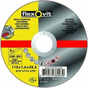 Tarcza do cięcia uniwersalna c60r-125x1.0x22.2-t41 flexovit-merchandise pro Beta...