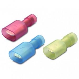 Wsuwka całkowicie izolowana z antywibracyjną tulejką miedzianą 2,5-6,3/0,8 nylon...