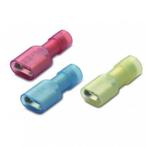 Nasuwka całkowicie izolowana z antywibracyjną tulejką miedzianą 6-6,3/0,8 nylon 105degc...