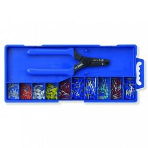 Zestaw w pudełku z rączką z tulejkami izolowanymi 250 szt. ze szczypcami 540 BM Group...