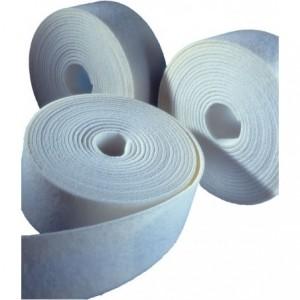 Włóknina miękka flexbrite w rolkach, ziarno elektrokorundowe, średnie, bordowe, rolka...